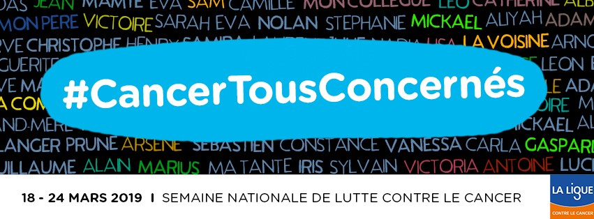 Semaine nationale contre le cancer