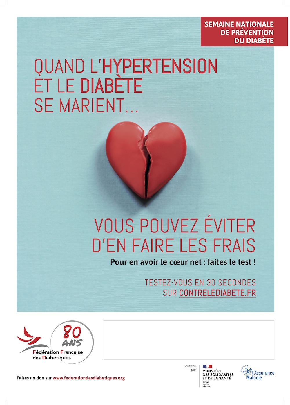 Semaine nationale de prévention du diabète :